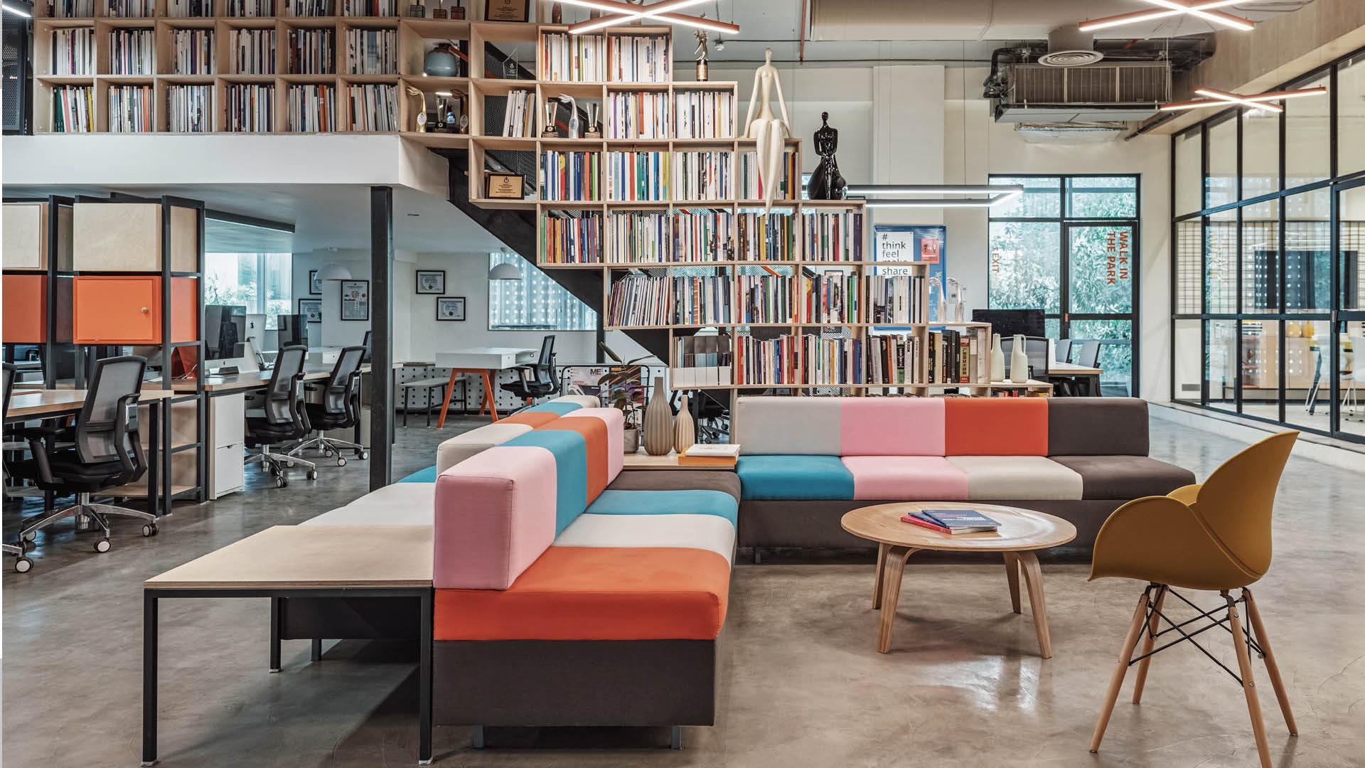 AICL mumbai office interior design