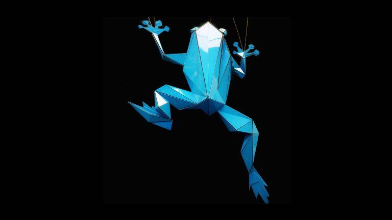 Faceted Frog