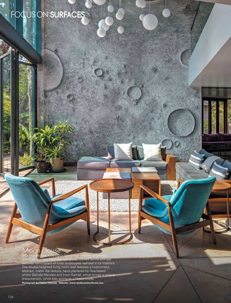 The Moon House featured in Elle Decor!